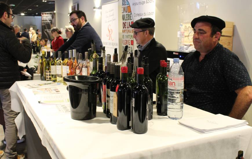 Plus de 50 exposants étaient présents lundi et dimanche pour le salon du vin organisé par France Boissons